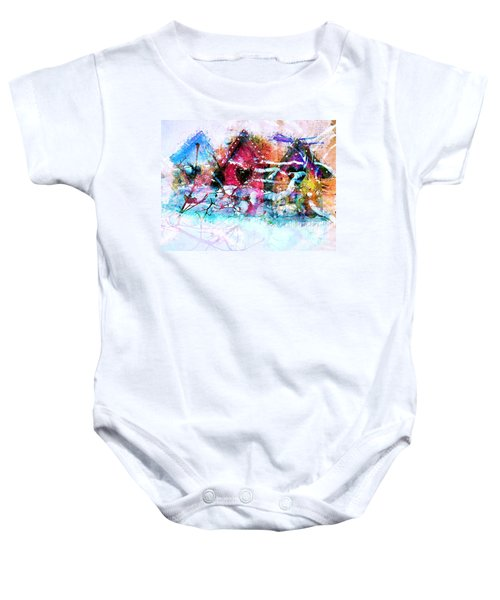 Home Through All Seasons Baby Onesie