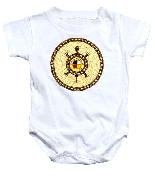Honor The Circle Baby Onesie