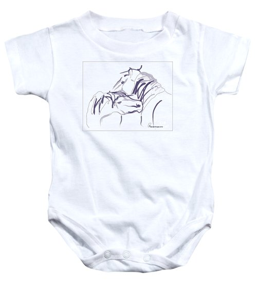Horse - Together 10 Baby Onesie