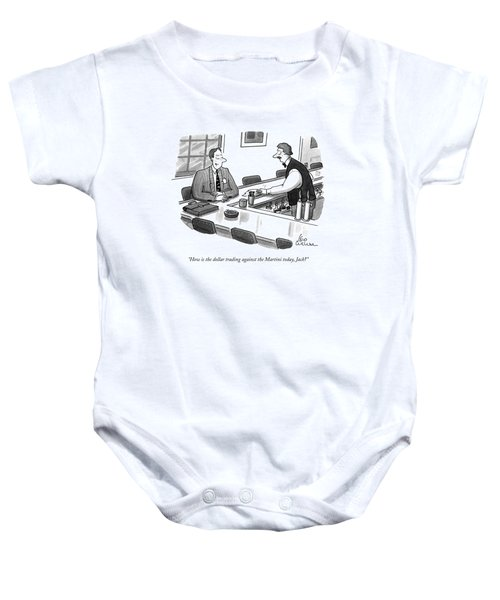 How Is The Dollar Trading Against The Martini Baby Onesie