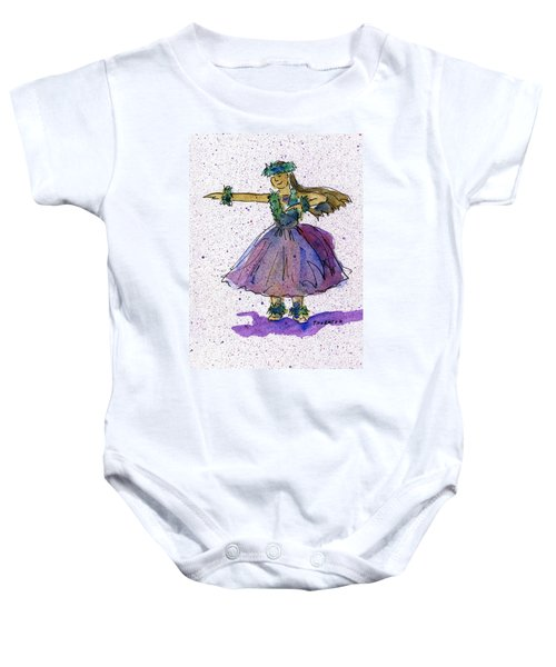 Hula Series Olina Baby Onesie