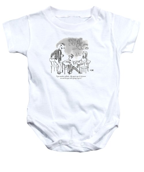 I Got Another Callback.  My Agent Says It's Baby Onesie