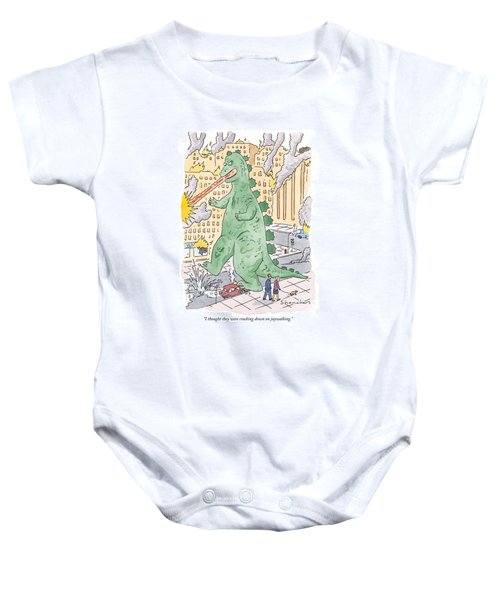 I Thought They Were Cracking Down On Jaywalking Baby Onesie