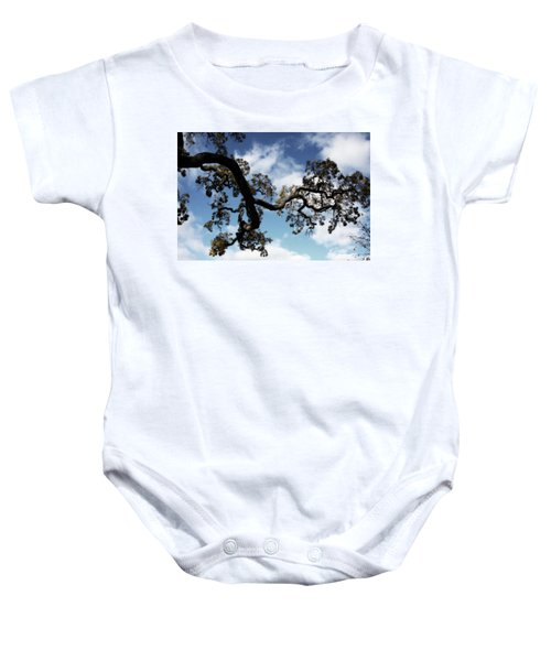 I Touch The Sky Baby Onesie