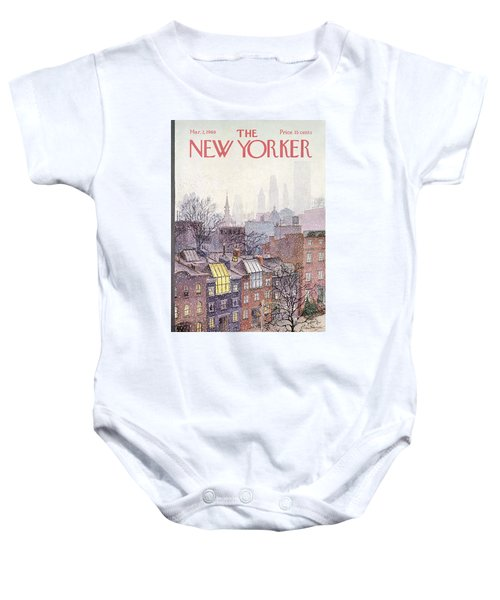 In The Borough Baby Onesie