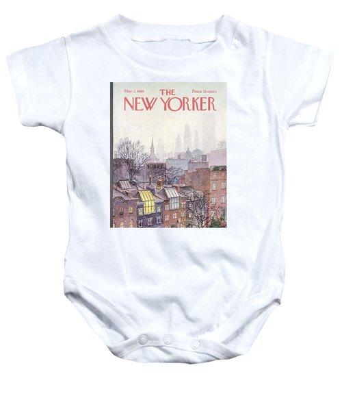 In The Borough Baby Onesie