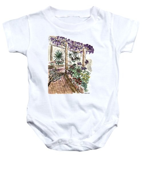 In The Greenhouse Baby Onesie