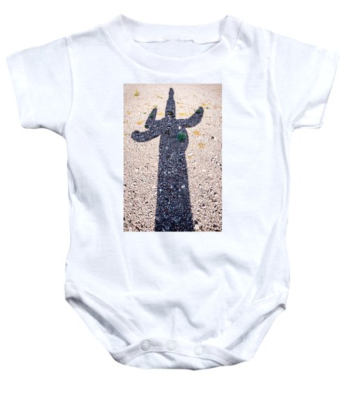 In The Shadow Of A Saguaro Cactus Baby Onesie