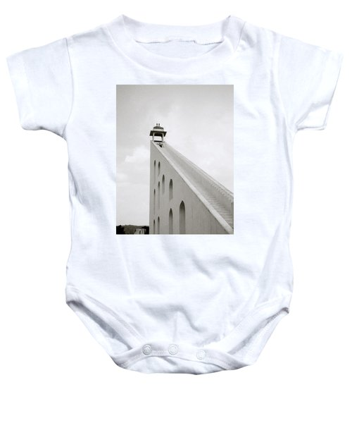 Simple Geometry Baby Onesie