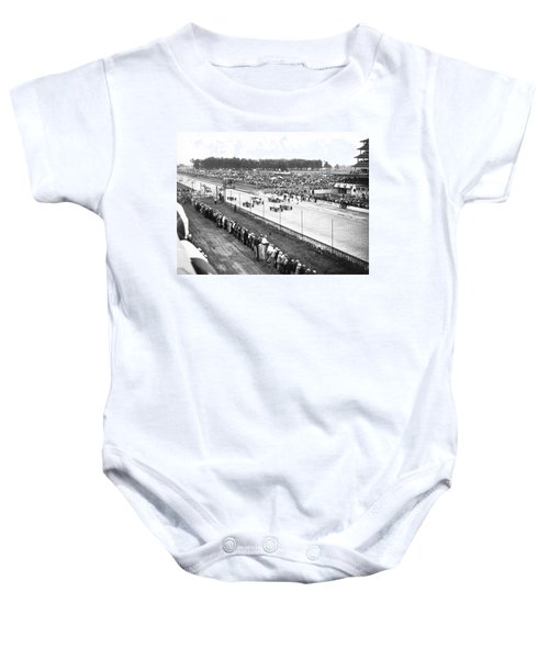 Indy 500 Auto Race Baby Onesie