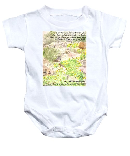 Irish Blessing Baby Onesie
