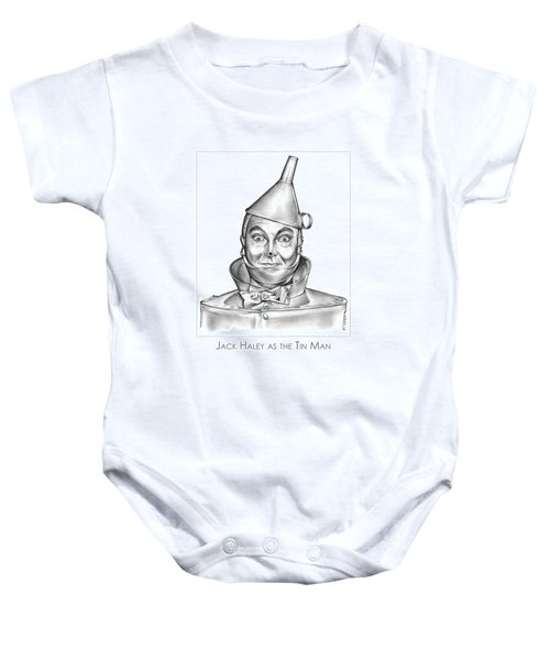 Jack Haley As The Tin Man Baby Onesie