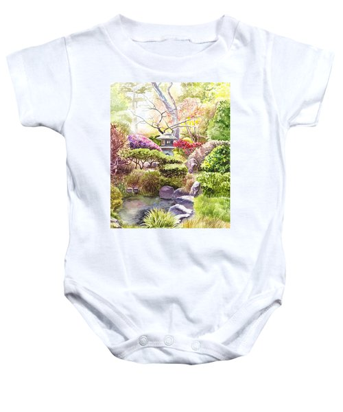 San Francisco Golden Gate Park Japanese Tea Garden  Baby Onesie