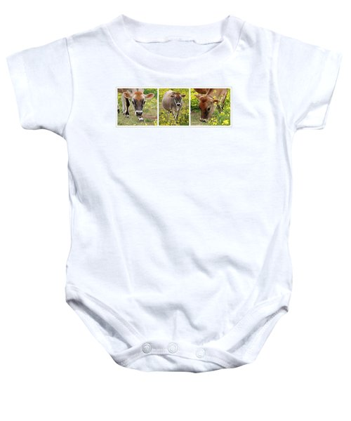 Jersey Fields Of Gold Baby Onesie