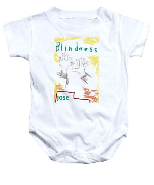 Jose Saramago Blindness Poster Baby Onesie