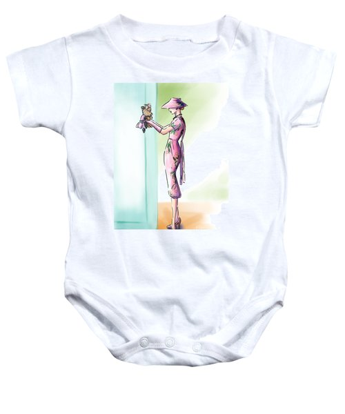 Just Like Mommy Baby Onesie