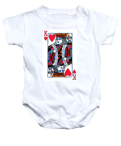 King Of Hearts 20140301 Baby Onesie