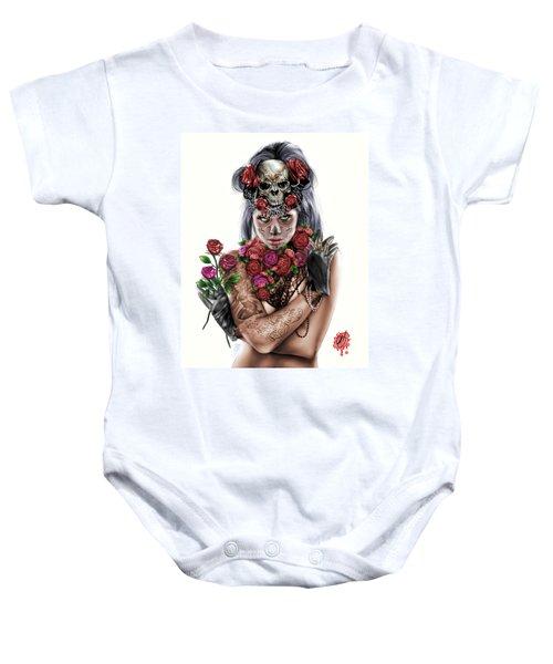 La Calavera Catrina Baby Onesie