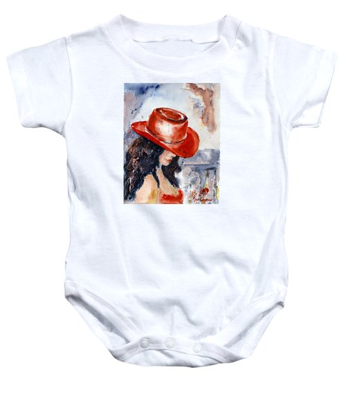 The Red Hat Baby Onesie