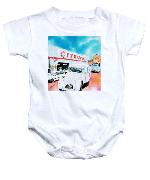 Le Garage Baby Onesie