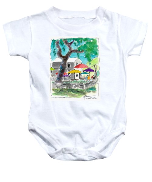 Let's Eat Outside Baby Onesie