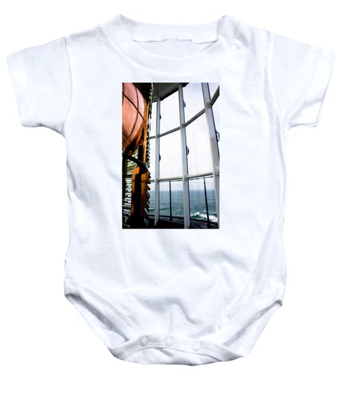 Lighthouse Lens Baby Onesie