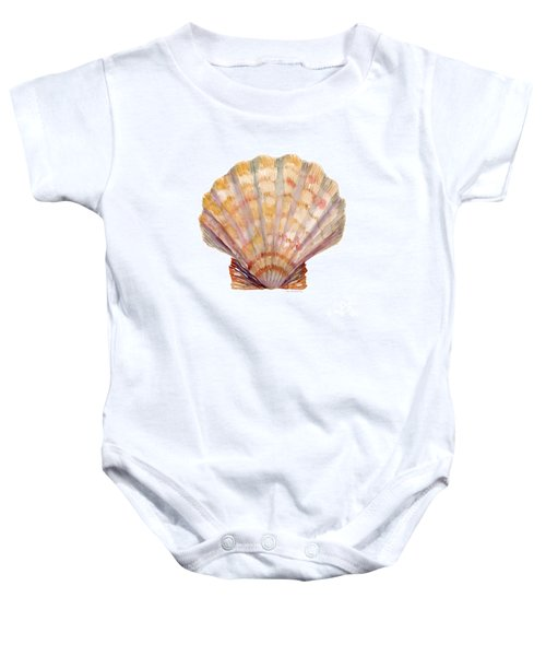 Lion's Paw Shell Baby Onesie