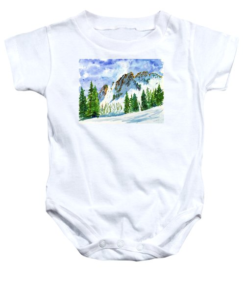 Lone Tree In The Afternoon Baby Onesie