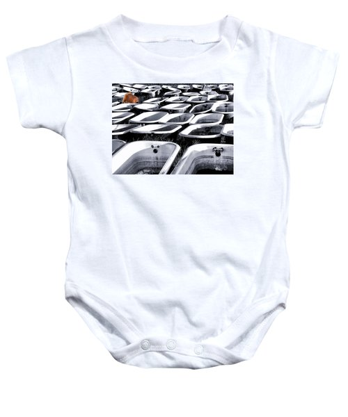 Lonesome Tub Baby Onesie