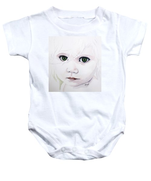 Longing Eyes Baby Onesie