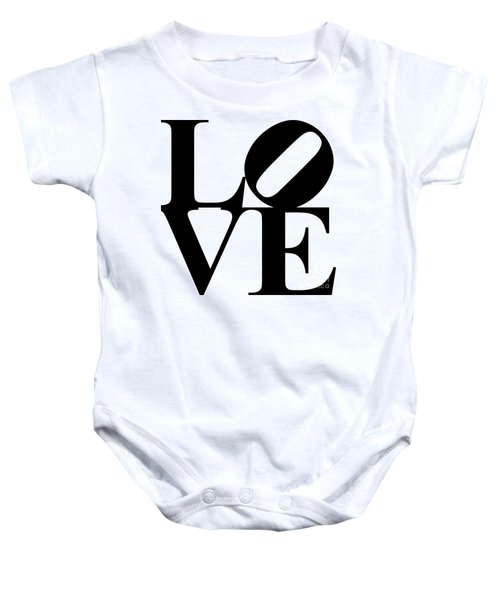 Love 20130707 Black White Baby Onesie