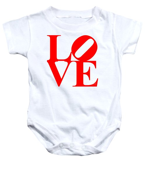 Love 20130707 Red White Baby Onesie