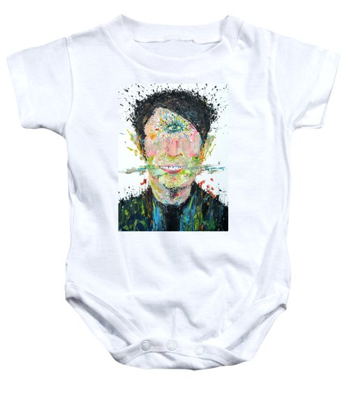 Love Me Do Baby Onesie by Fabrizio Cassetta