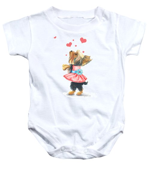 Love Without Ends Baby Onesie