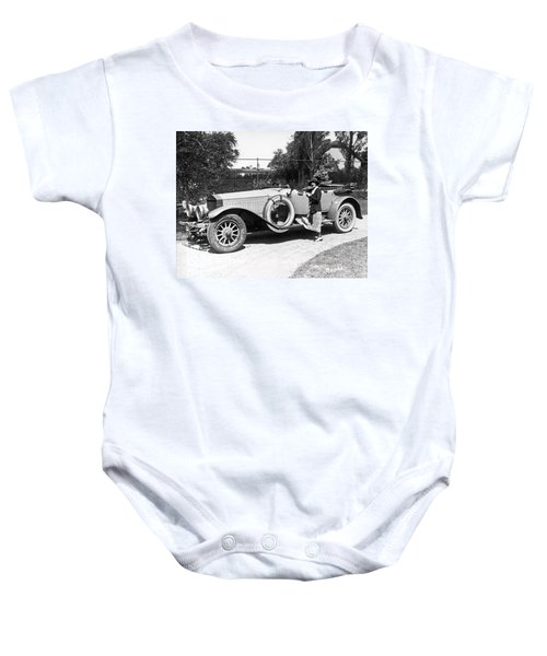 Mabel Normand In A Rolls Royce Baby Onesie