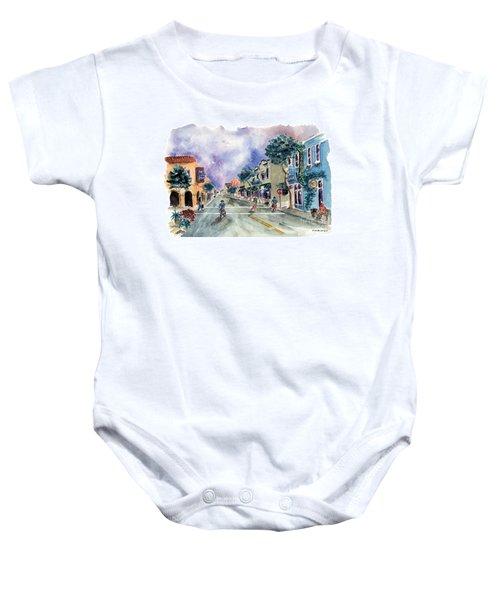Main Street Half Moon Bay Baby Onesie