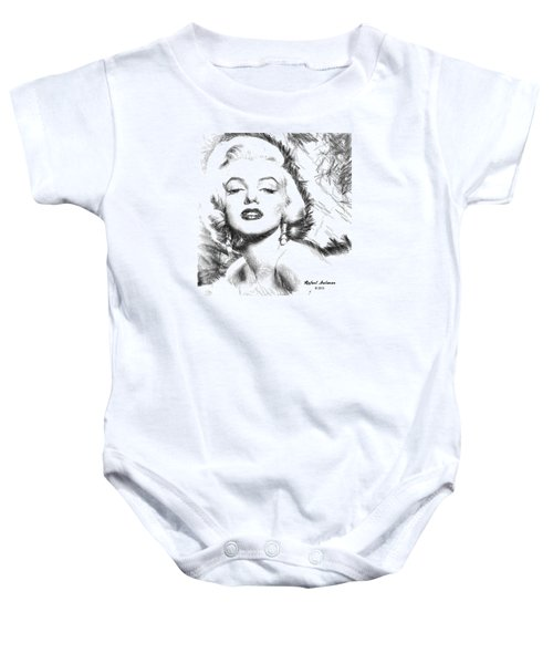 Marilyn Monroe - The One And Only  Baby Onesie
