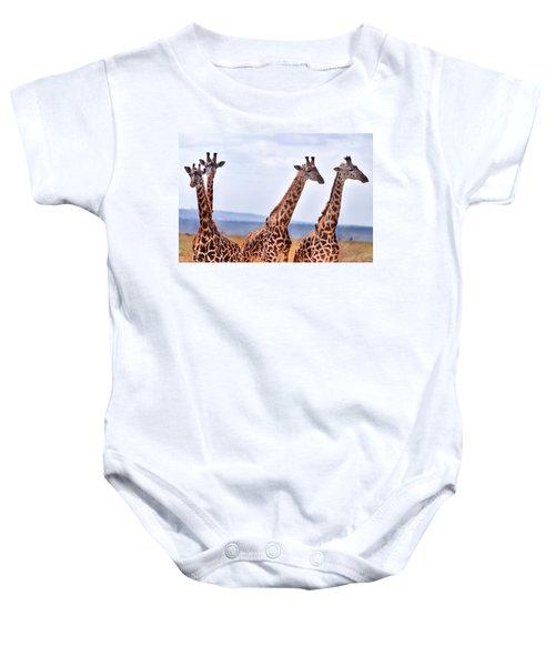 Masai Giraffe Baby Onesie
