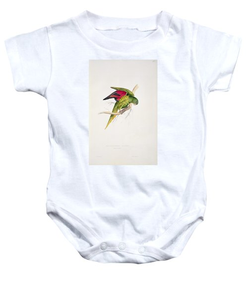 Matons Parakeet Baby Onesie by Edward Lear