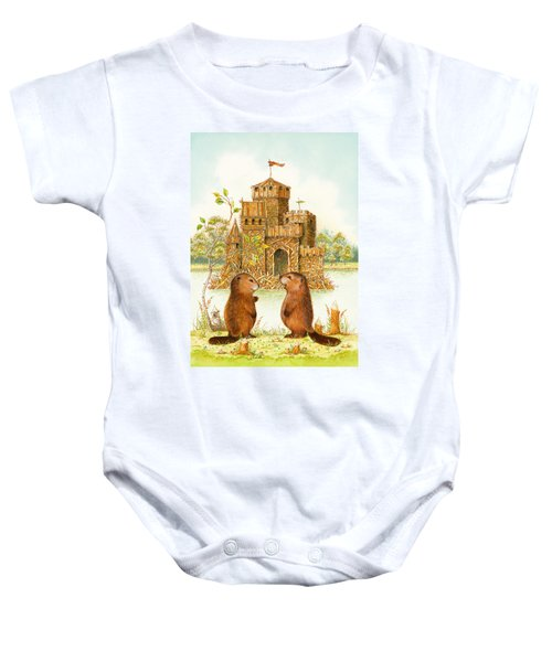 Mclodge Baby Onesie by Lynn Bywaters