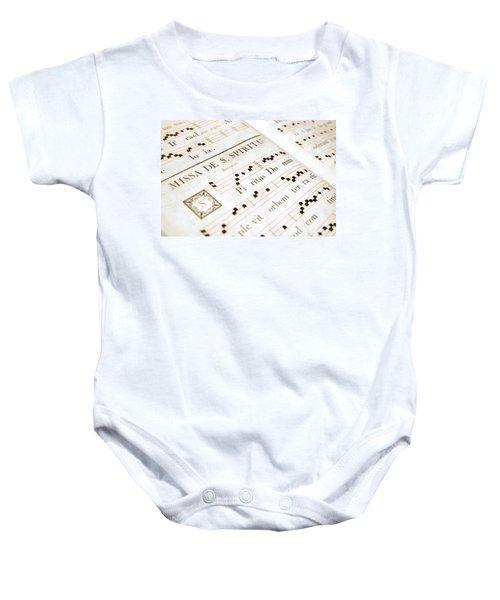 Mediavel Chorus Book  Baby Onesie