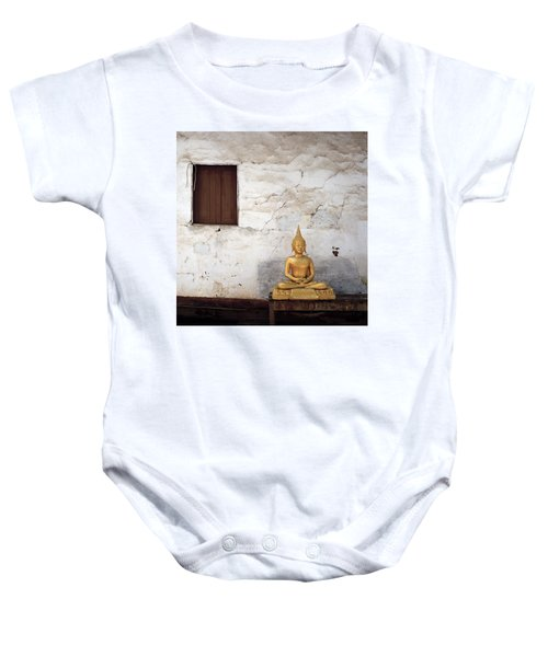 Meditation In Laos Baby Onesie