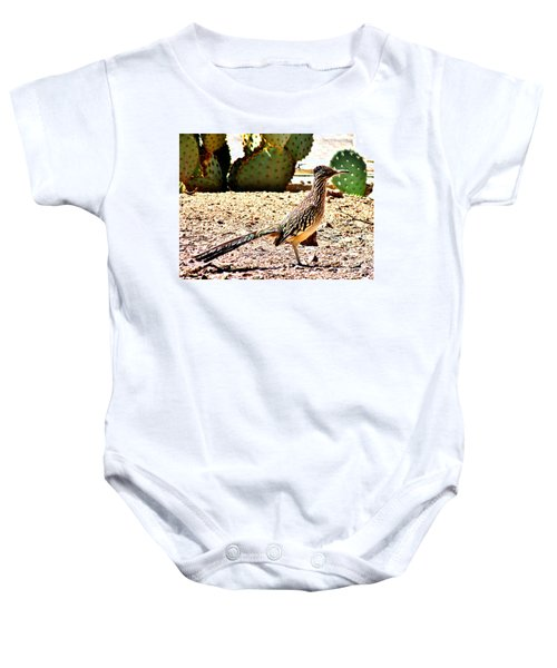 Meep Meep Baby Onesie by Marilyn Smith
