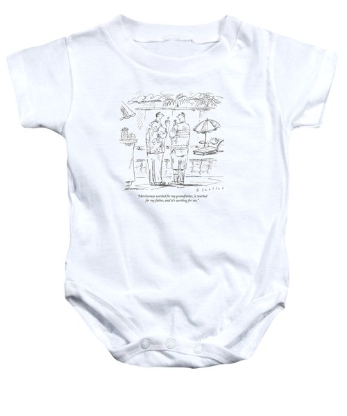 Meritocracy Worked For My Grandfather Baby Onesie
