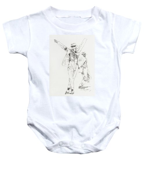Michael Smooth Criminal Baby Onesie
