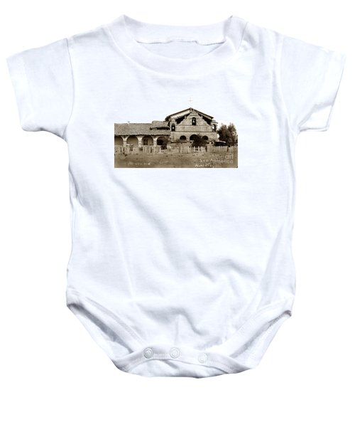 Mission San Antonio De Padua California Circa 1885 Baby Onesie