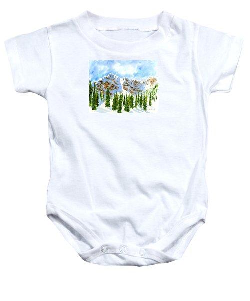 Mount Ogden Baby Onesie