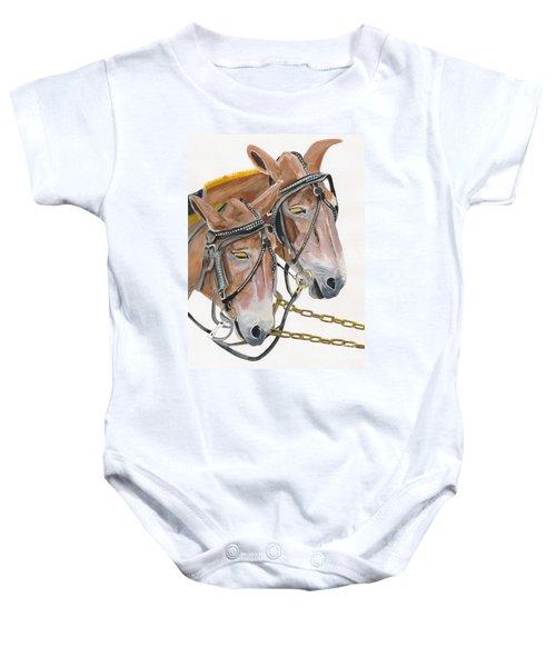 Mules - Two - Beast Of Burden Baby Onesie