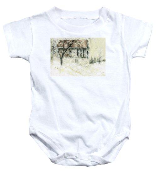 Caledon Barn Baby Onesie
