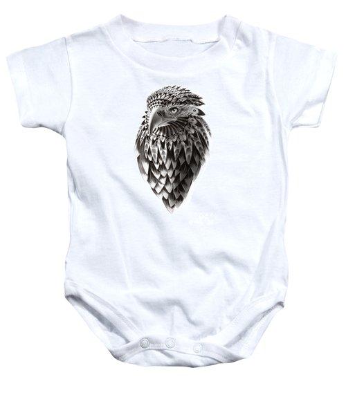 Native American Shaman Eagle Baby Onesie